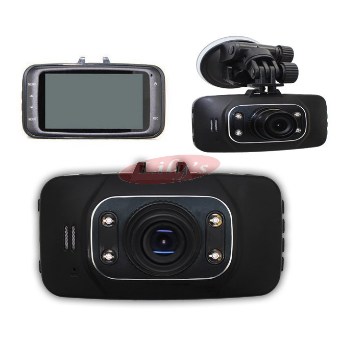 GS8000 HD Driving Record Camera 140° Wide Angel G-Sensor Car Safety Cam