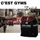 C'EAST GYMS GS-9381 Classic Neoprene Black Backpack - Great Gift Idea