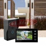 Wireless Intercom System WIFI Doorbell & Touch Control Monitor Screen