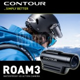 Contour Roam 3 Waterproof HD Action Camera Camcorder - Perfect for Ski Snowboarding