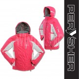 PERYSHER Racer V2 Womens Pink Snowboard Jacket / Ski Jacket for Ladies