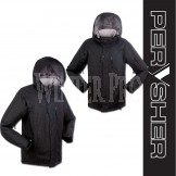 PERYSHER Dimension Black Mens Snowboard Jacket / Ski Jacket