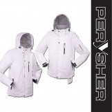 PERYSHER Dimension White Mens Snowboard Jacket / Ski Jacket