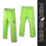 PERYSHER PERFORMANCE Green Mens Ski Pants / Snowboard Pants