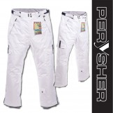PERYSHER PERFORMANCE White Mens Ski Pants / Snowboard Pants