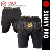 Sunny Pro CE Approved KNOX Shorts Hip Protector Bum Pad