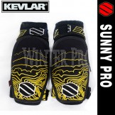 Sunny Pro KEVLAR CE Approved Elbow Protector Protection Safety Protective Pad