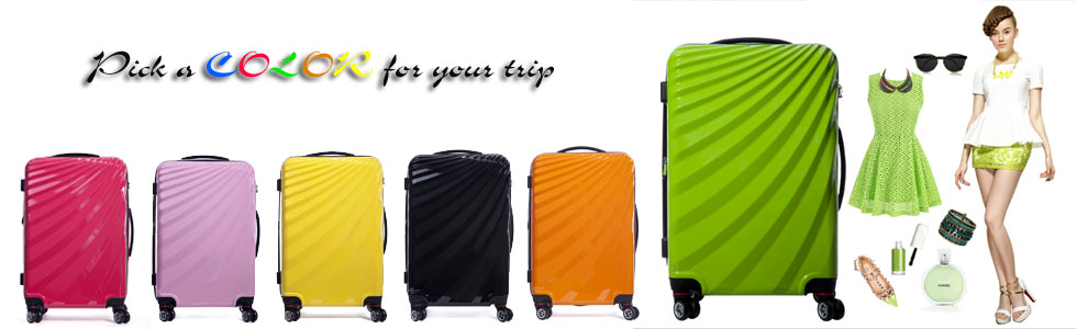 colorful Gotrip travel Luggage