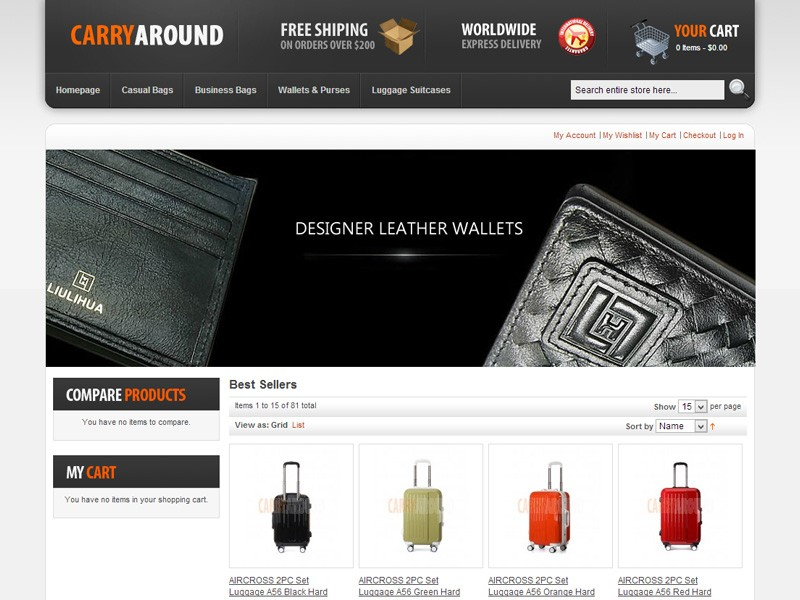 Carry Around bags online