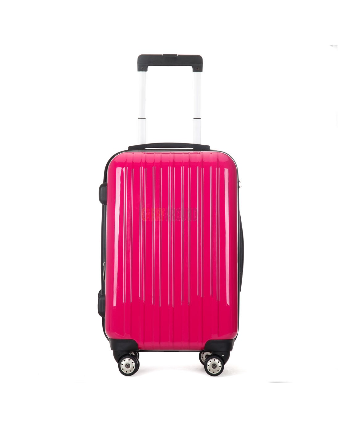 """AIRCROSS 2PC Set Luggage A55 Rose Hard Case Expandable Trolley Luggage - 20""""24"""""""