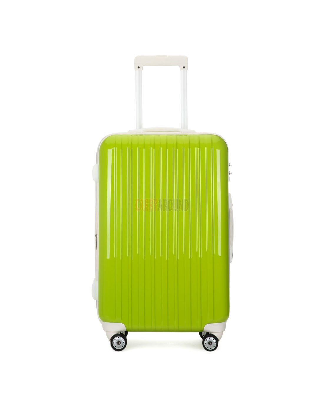 """AIRCROSS 2PC Set Luggage A55 Light Green Hard Case Expandable Trolley Luggage - 24""""26"""""""