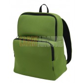 "GYMS 13"" Green Neoprene Backpack"