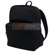 "GYMS 13"" Black Neoprene Backpack"