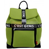 C'EAST GYMS Classic Neoprene Backpack - ZURICH Green