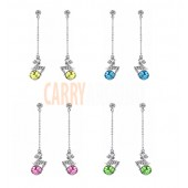Crystal earrings - various colour available - great gift idea