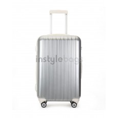 AIRCROSS Luggage A55 Grey Hard Case Expandable Trolley Luggage - 26""