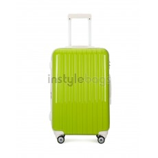 """AIRCROSS Luggage A55 Light Green Hard Case Expandable Trolley Luggage - 26"""""""