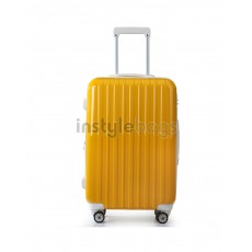 "AIRCROSS 2PC Set Luggage A55 Yellow Hard Case Expandable Trolley Luggage - 20""24"""