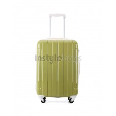 "AIRCROSS 3PC Set Luggage i30 Green Hard Case Trolley Luggage - 19""23""& 26"""