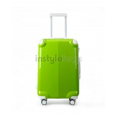 AIRCROSS Luggage A58T Green Hard Case Trolley Luggage - 24""
