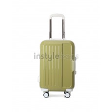 AIRCROSS Luggage A56 Green Trolley Luggage Case - 20""