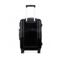 """AIRCROSS Luggage A55 Black Hard Case Expandable Trolley Luggage - 26"""""""