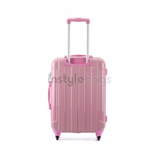 AIRCROSS Luggage i30 Pink  Hard Case Trolley Luggage - 23""
