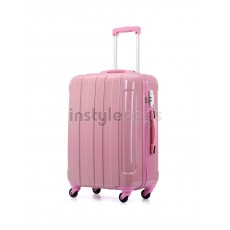 AIRCROSS Luggage i30 Pink  Hard Case Trolley Luggage - 26""