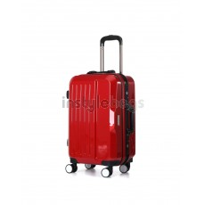 AIRCROSS Luggage A56 Red Trolley Luggage Case - 20""