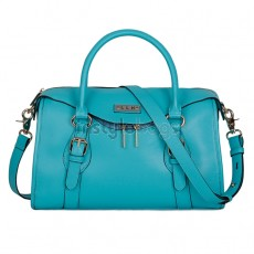 Gorgeous Ladies Fashion Leather Shoulder Bag / Tote Handbag - Blue
