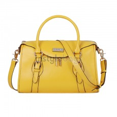 Gorgeous Ladies Fashion Leather Shoulder Bag / Tote Handbag - Yellow