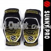 Sunny Field-PRO Kevlar Hard Shell Knee Protector Guard - CE Approved for All Sports