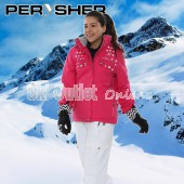 PERYSHER  Zara V2 Womens Ross Pink Snowboard Jacket / Ski Jacket for Ladies
