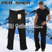 NEW PERYSHER  PERFORMANCE  Mens Ski Pants / Snowboard Pants Black