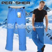 NEW PERYSHER  PERFORMANCE Mens Ski Pants / Snowboard Pants Blue