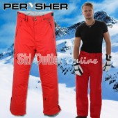 NEW PERYSHER PERFORMANCE Mens Ski Pants / Snowboard Pants Red