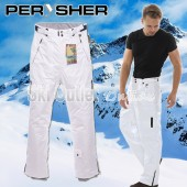 NEW PERYSHER PERFORMANCE Mens Ski Pants / Snowboard Pants White