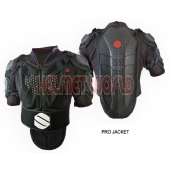 Sunny Black Field-PRO Body Protective Armor Jacket - for Extreme Sports