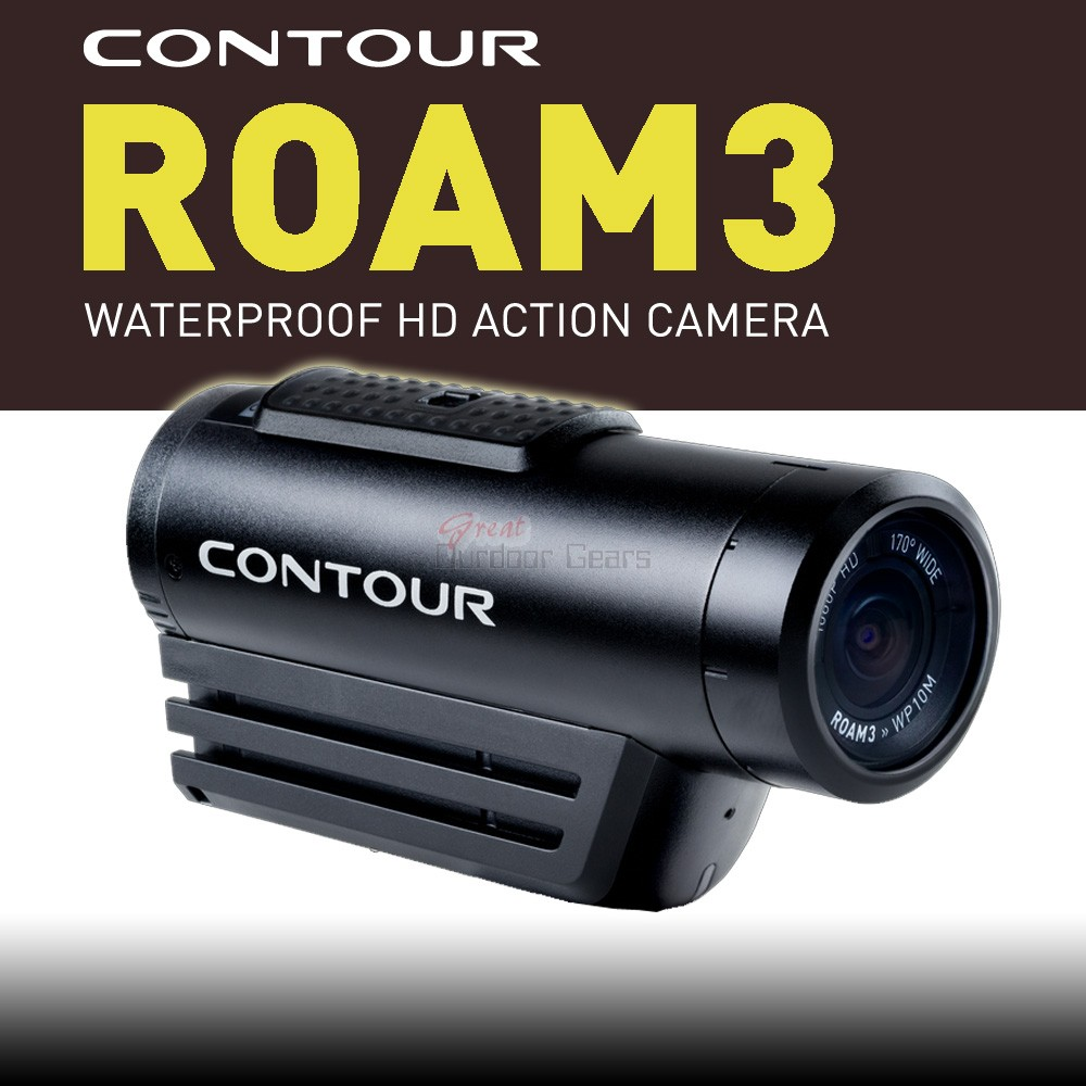 Contour Roam 3 Waterproof HD Action Camera Camcorder