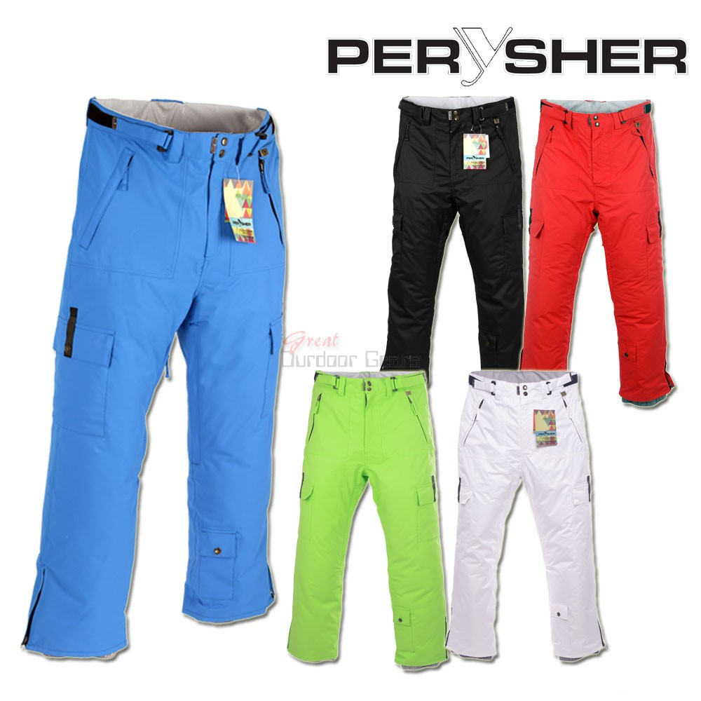 PERYSHER  PERFORMANCE Mens Ski Pants / Snowboard Pants