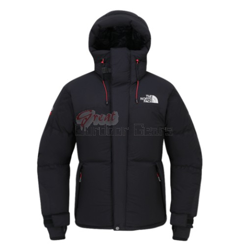 TNF The North Face Black Mens HIMALAYAN PARKA 3 Jacket - Water Resistant & Wind Proof