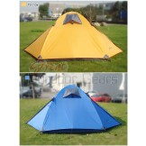 Kaima Lightweight 4 Person Tent - Blue / Yellow