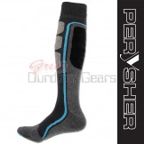 Perysher Thermolite Unisex Active Sports Socks - Blue Stripe