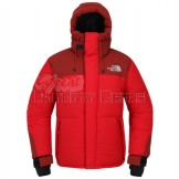 TNF The North Face Red Mens HIMALAYAN PARKA 3 Jacket - Water Resistant & Wind Proof