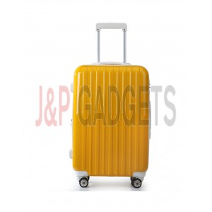 "AIRCROSS 2PC Set Luggage A55 Yellow Hard Case Expandable Trolley Luggage - 24""26"""