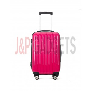 """AIRCROSS 2PC Set Luggage A55 Rose Hard Case Expandable Trolley Luggage - 24""""26"""""""