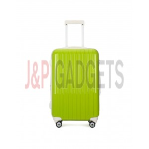 """AIRCROSS 2PC SetLuggage A55 Light Green Hard Case Expandable Trolley Luggage - 20""""24"""""""