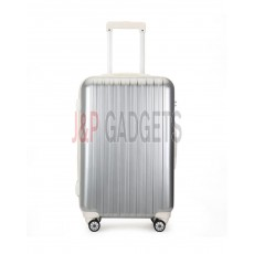"""AIRCROSS Luggage A55 Grey Hard Case Expandable Trolley Luggage - 26"""""""