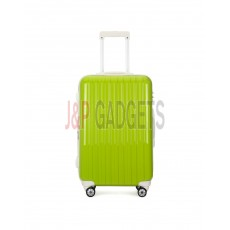 "AIRCROSS 2PC Set Luggage A55 Light Green Hard Case Expandable Trolley Luggage - 24""26"""
