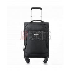 """AIRCROSS Luggage S19 Black Hard Case Trolley Luggage - 20"""""""